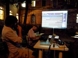 Mostrando a experencia do uso do Tiki-wiki de hackitectura.net